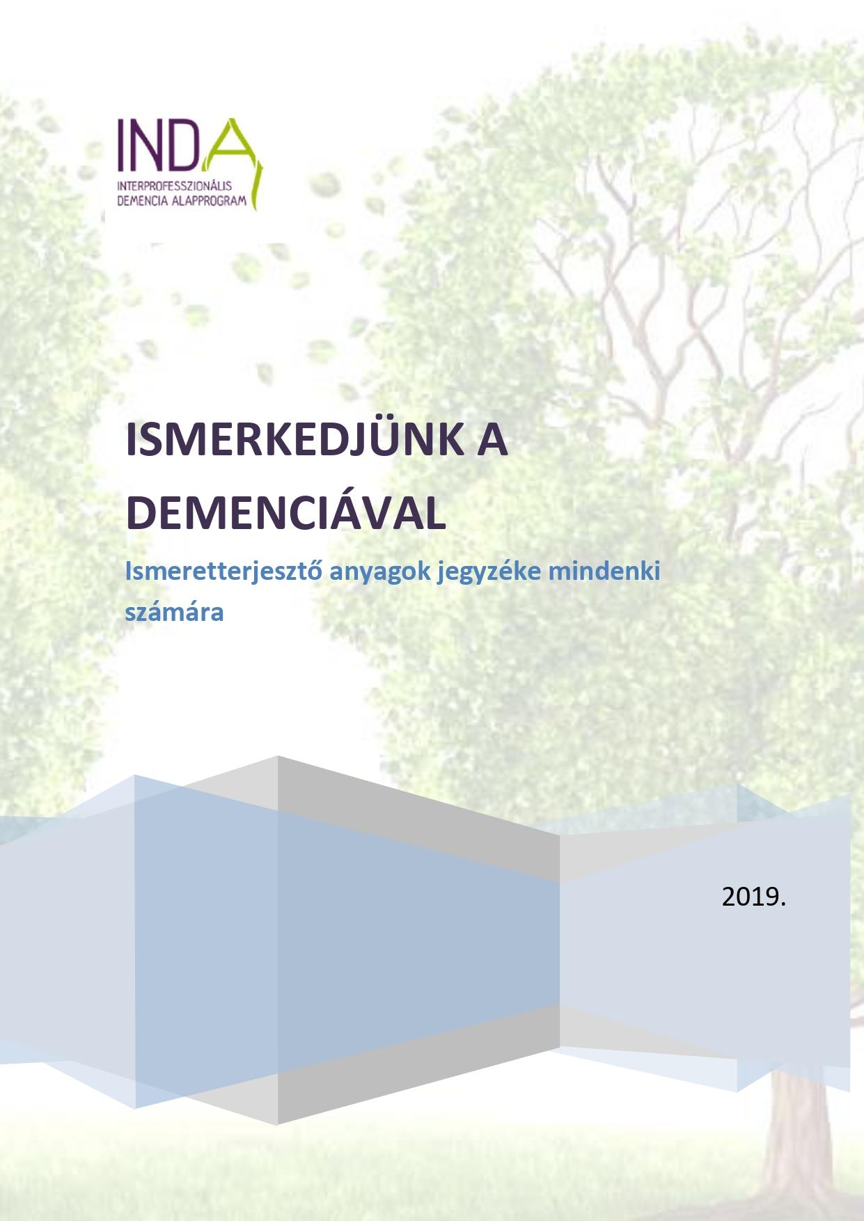 Ismerkedjünk a demenciával! – Ismeretterjesztő művek jegyzéke a demenciáról